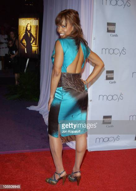 Elise Neal during Macy's and American Express Passport Gala Arrivals at Santa Monica Airport's Barker Hanger in Santa Monica California United States