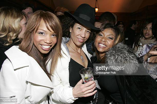 Elise Neal producer Stephanie Allain and Taraji P Henson