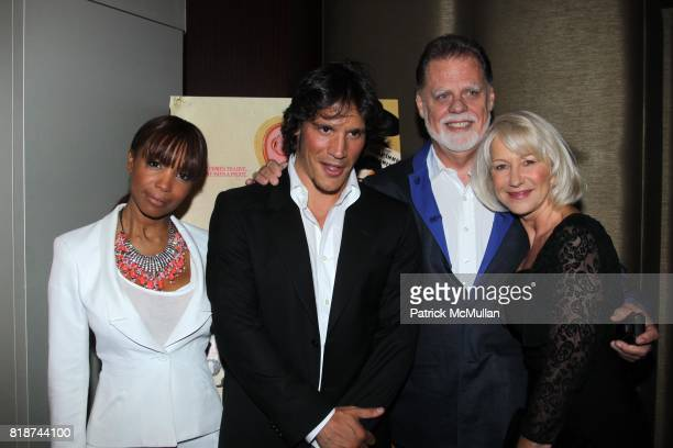 Elise Neal Sergio PerisMencheta Taylor Hackford and Helen Mirren attend E1 Entertainment Presents the New York Premiere of LOVE RANCH at Dolby...