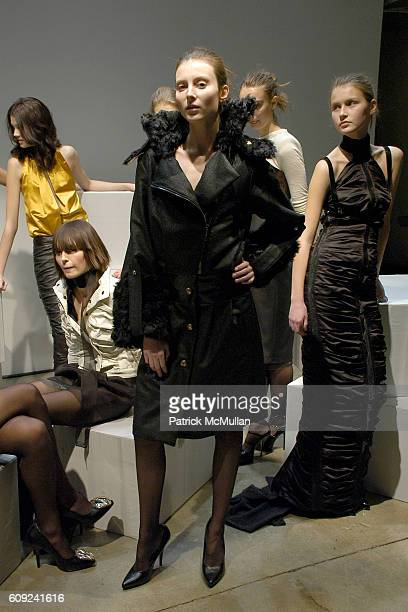 Elise Overland Presentation Atmosphere and Models attend ELISE OVERLAND Fall/Winter 2007 Collection at Milk Studios Penthouse on February 3 2007 in...