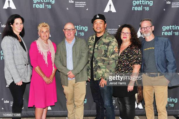 Evan Kleiman host of the radio program 'Good Food' attends the 10th anniversary screening of Oscarnominated documentary 'Food Inc' September 24 2018...