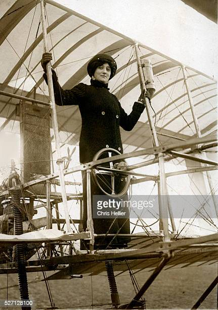 Elise Raymonde Deroche was the first woman to receive a pilot's license Early in her career she was an actress and was sometimes known as Baroness...