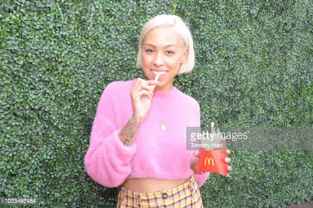 Elise Swopes attends for Create Cultivate conference at the House of Vans with partners include Microsoft Teams JC Penney McDonalds and Comcast NBC...