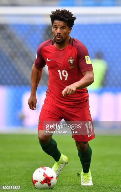 Eliseu of Portugal in action during the FIFA Confederation Cup Group A match between New Zealand and Portugal at Saint Petersburg Stadium on June 24...