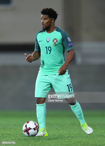 Eliseu of Portugal runs with the ball during the FIFA 2018 World Cup Qualifier between Andorra and Portugal at the Estadi Nacional on October 7 2017...