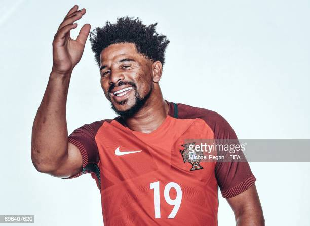 Eliseu poses for a picture during the Portugal team portrait session on June 15 2017 in Kazan Russia
