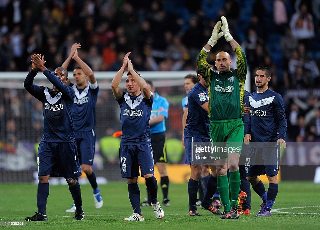 Real Madrid CF v Malaga CF  - Liga BBVA : News Photo