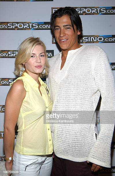 Elisha Cuthbert and Andrew Keegan during BETonSPORTS Inaugurates VIP Club with a Grand Opening in Costa Rica Featuring Carmen Electra and The...