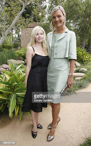 Elisha Cuthbert and Nicola Maramotti during MaxMara and the C.H.I.P.S Host A Luncheon Benefitting The Children's Institute Incorporated at Century...