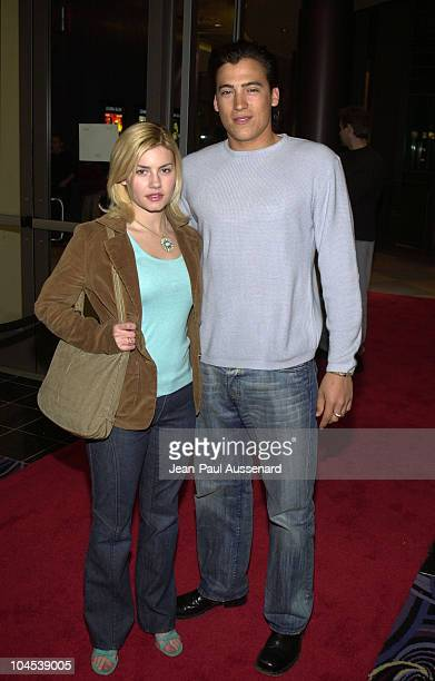 Elisha Cuthbert Andrew Keegan during 'Stolen Summer' Screening at Pacific theatre 16 in Sherman Oaks California United States