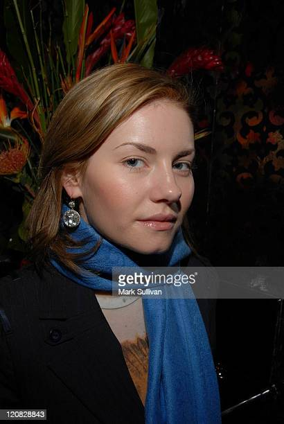 Elisha Cuthbert at the Diamond Information Center Diamond Aquifer Mystical Retreat *EXCLUSIVE*