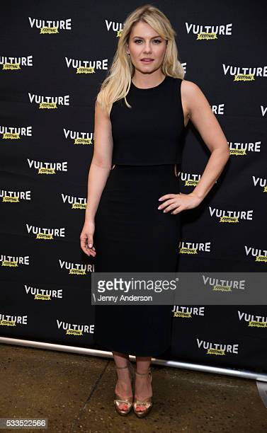 Elisha Cuthbert attends Happy Endings Reunion at the 2016 Vulture Festival at Milk Studios on May 22 2016 in New York City