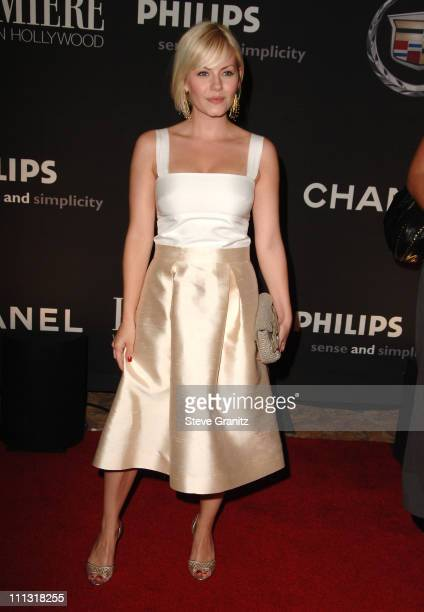 Elisha Cuthbert during 13th Annual Premiere Women in Hollywood Arrivals at Beverly Hills Hotel in Beverly Hills California United States
