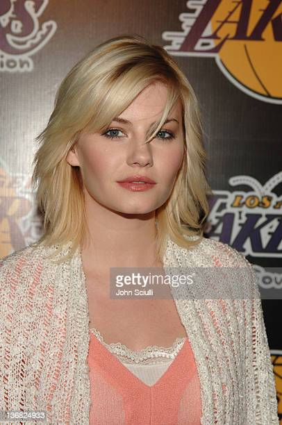 Elisha Cuthbert during 2nd Annual Lakers Casino Night Benefiting the Lakers Youth Foundation Red Carpet and Inside at Barker Hanger in Santa Monica...