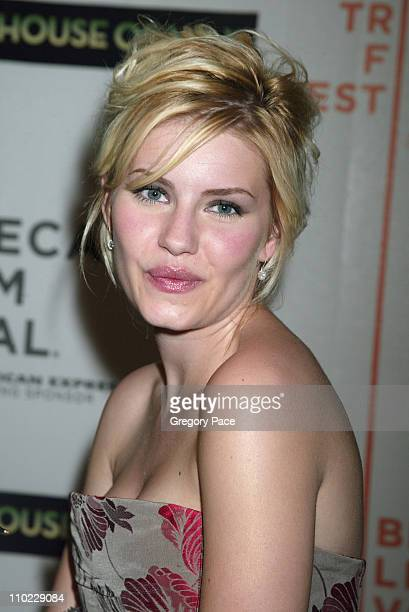 Elisha Cuthbert during 4th Annual Tribeca Film Festival House of Wax New York City Premiere Arrivals at Stuyvesant High School in New York City New...