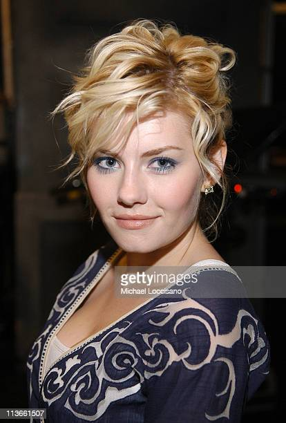 Elisha Cuthbert during Cast of House of Wax Visits Fuse's Daily Download May 4 2005 at Fuse Studios in New York City New York United States