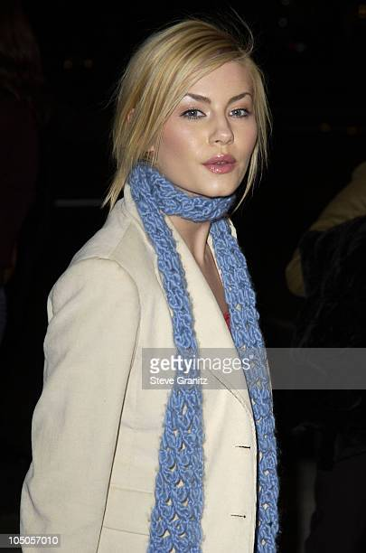 "Elisha Cuthbert during ""Confidence"" Premiere - Los Angeles at The Academy in Beverly Hills, California, United States."