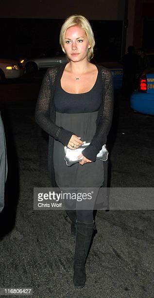 Elisha Cuthbert during Elisha Cuthbert Sighting at Les Deux Club May 30 2007 at Les Deux in Los Angeles California United States