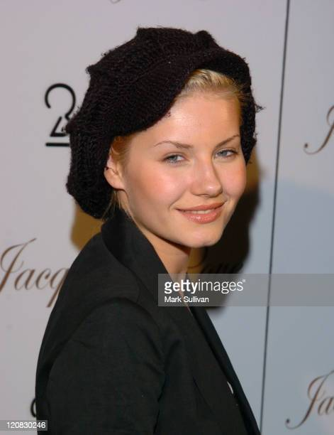 "Elisha Cuthbert during ""Fashion for Passion"" Featuring the Beach Boys - Arrivals at The Cabana Club in Hollywood, California, United States."