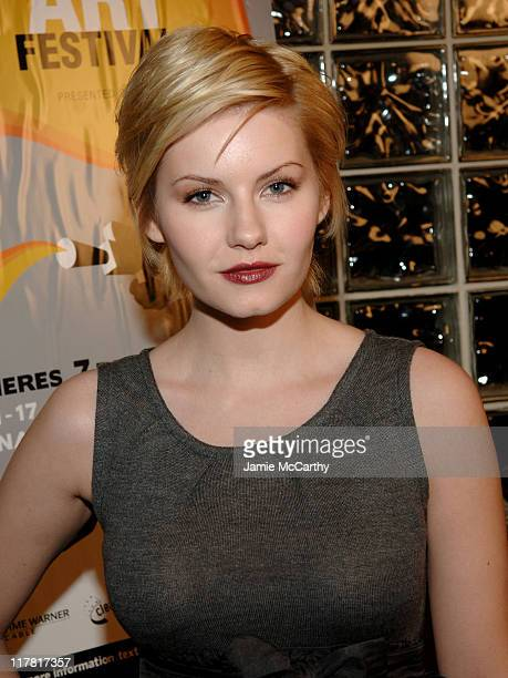 """Elisha Cuthbert during GenArt Film Festival Closing Night Featuring """"He Was A Quiet Man"""" at Clearview Chelsea West Theater in New York City, New..."""