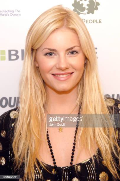 Elisha Cuthbert during Glamour Magazine Golden Globe Suite - Day 2 at L'Ermitage in Beverly Hills, California, United States.