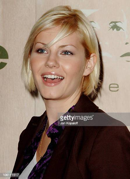 Elisha Cuthbert during Grand Opening of Area Nightclub at Area in Los Angeles California United States