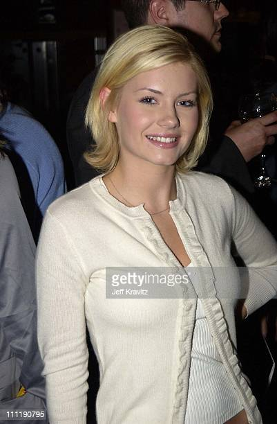 Elisha Cuthbert during Hollywood Film Festival's World Premierw of the Ring at The ArcLight in Hollywood California United States