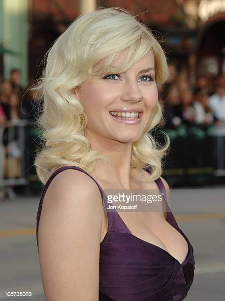 Elisha Cuthbert during House of Wax Los Angeles Premiere Outside Arrivals at Mann Village Theater in Westwood California United States