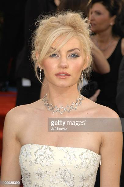 Elisha Cuthbert during The 60th Annual Golden Globe Awards Arrivals at Beverly Hilton Hotel in Beverly Hills CA United States