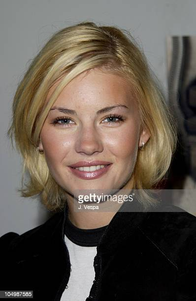 Elisha Cuthbert during The Cabana Beauty Buffet - Day 1 at The Chateau Marmont Hotel in Los Angeles, California, United States.