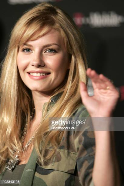 Elisha Cuthbert during 'TMobile Sidekick II' Launch Party Arrivals at The Grove Rooftop in Los Angeles CA United States