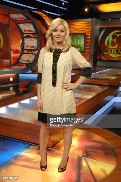 Elisha Cuthbert Visits The ET Canada Studio For an Intrview with Cheryl Hickey June 22 2007