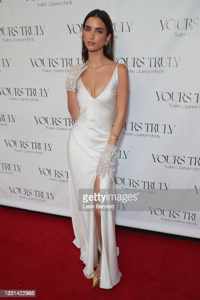 """Elisha Herbert attends Celebrity Photographer Sam Dameshek's Black Tie Book Release Event For """"Yours Truly"""" at Fellow on July 29, 2021 in Los..."""
