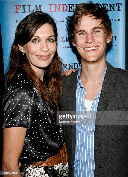 Elissa Down and Rhys Wakefield arrive at The 2008 Film Independent Screening Of 'The Black Balloon' QA