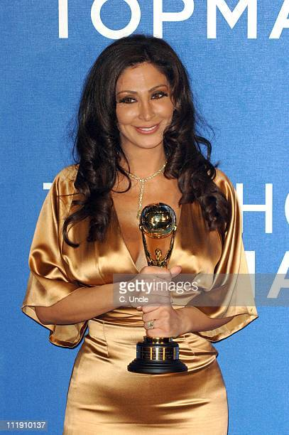 Elissa during 2006 World Music Awards Press Room at Earls Court in London Great Britain