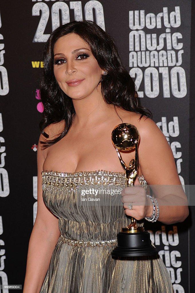 World Music Awards 2010 - Press Room