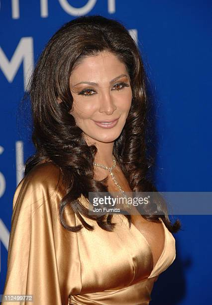 Elissa during World Music Awards 2006 Inside Arrivals at Earls Court in London United Kingdom
