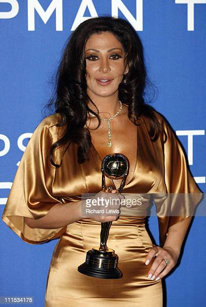 Elissa during World Music Awards 2006 Press Room at Earls Court in London Great Britain