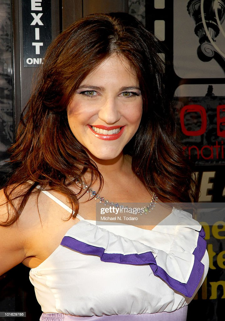 Elissa Goldstien attends the premiere of 'An Affirmative Act' at Cedar Lane Cinemas on June 4, 2010 in Teaneck, New Jersey.