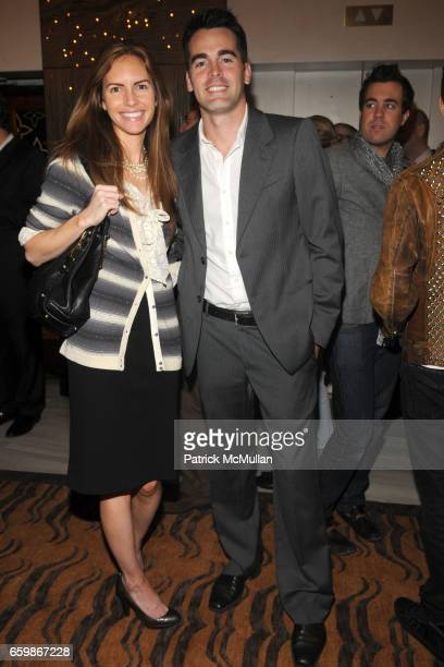 Elissa Lumley and Andrew Freesmeier attend LOUIS VUITTON 2010 Cruise Collection Launch with MAGGIE GYLLENHAAL at SAKS FIFTH AVENUE at Louis Vuitton...