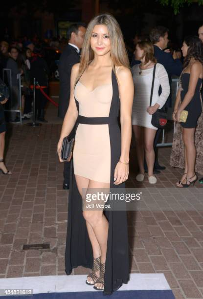 Elissa Shay attends The Sound And The Fury premiere during the 2014 Toronto International Film Festival at Ryerson Theatre on September 6 2014 in...