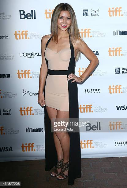 Elissa Shay attends the The Sound And The Fury Premiere during the 2014 Toronto International Film Festival at Ryerson Theatre on September 6 2014 in...