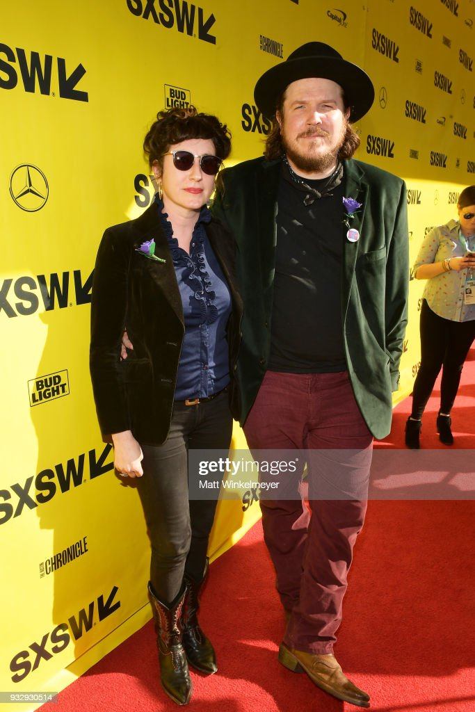Elissabeth Blofson and Ben Dickey attend the 'Blaze' Premiere 2018 SXSW Conference and Festivals at Paramount Theatre on March 16, 2018 in Austin, Texas.