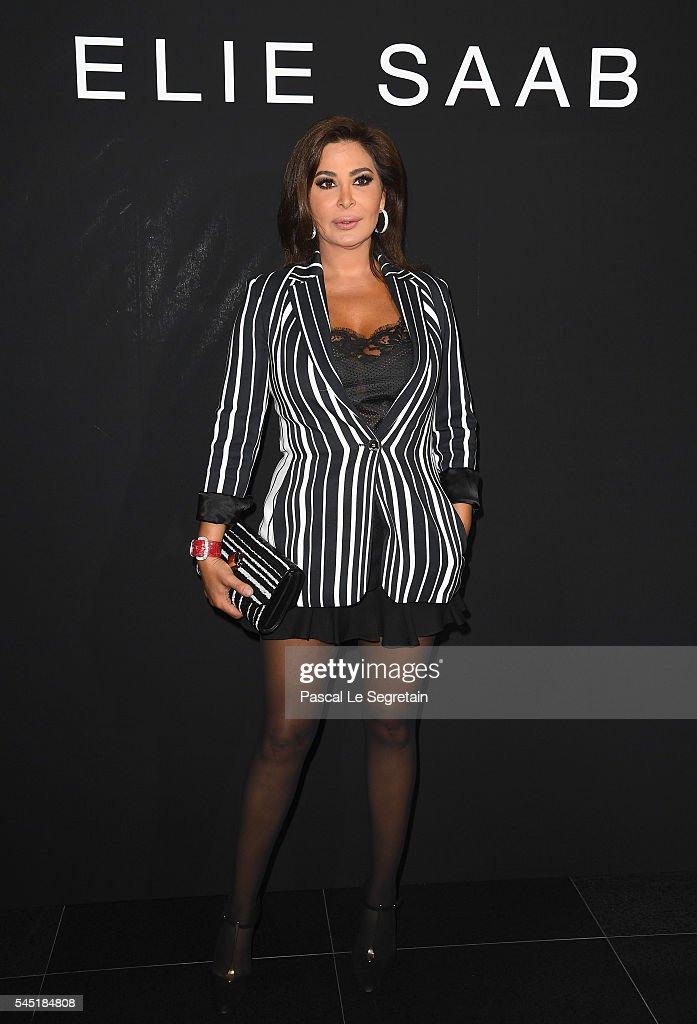 Elie Saab : Front Row - Paris Fashion Week - Haute Couture Fall/Winter 2016-2017