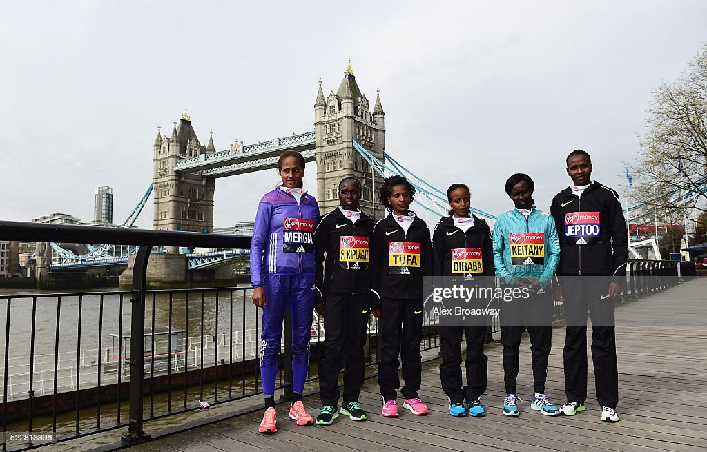 Virgin Money London Marathon Photocalls