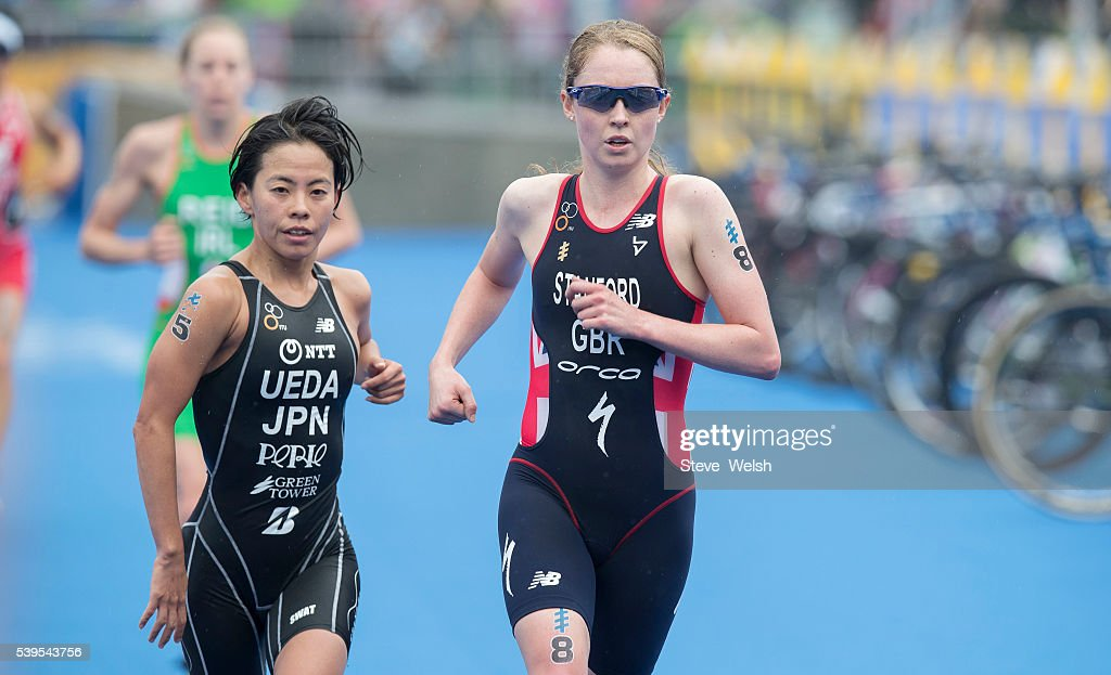STOCKHOLM - AUG, 24: Non Stanford (GBR) The Bronze Medalist Afte ...