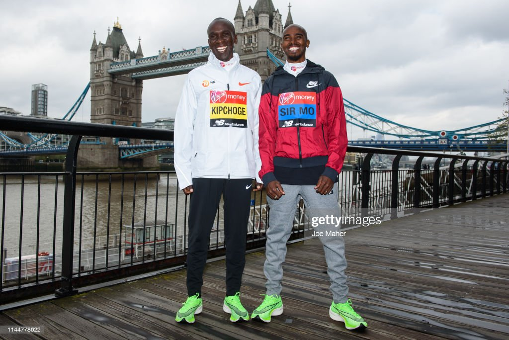 GBR: London Marathon 2019 - Photocalls