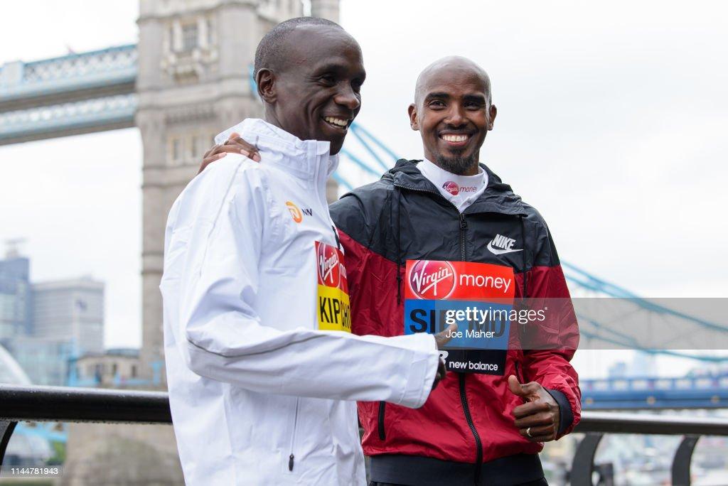 GBR: London Marathon 2019 - Photocalls