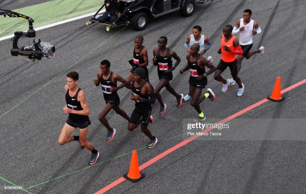 Nike Breaking2: Sub-Two Marathon Attempt : News Photo