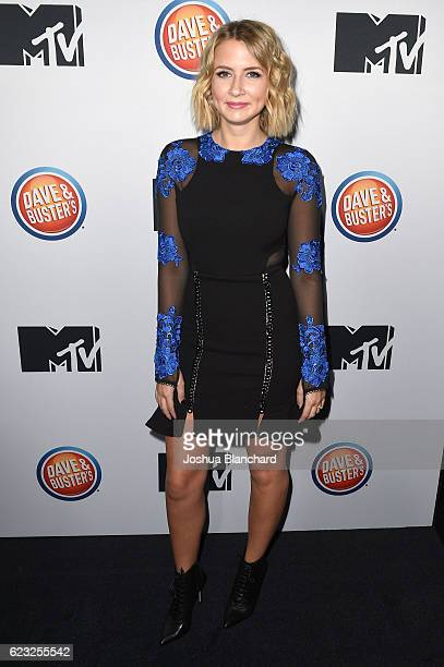 Eliza Bennett arrives at MTV's 'Teen Wolf' and 'Sweet/Vicious' Premiere Event on November 14 2016 in Los Angeles California